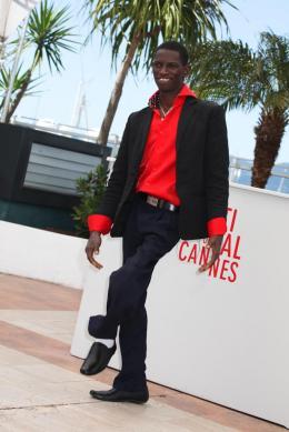 Souleymane Deme Photocall du film Grigris - Cannes 2013 photo 6 sur 10