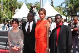 Mahamat-Saleh Haroun Pr�sentation du film Grigris - Cannes 2013 photo 3 sur 12