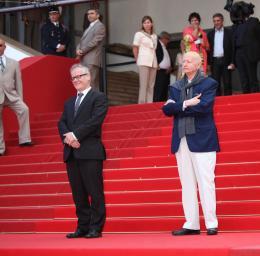 photo 16/16 - Thierry Frémaux et Gilles Jacob - Présentation du film Grigris - Cannes 2013 - Grigris - © Isabelle Vautier pour CommeAuCinema.com
