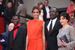 Mahamat-Saleh Haroun Pr�sentation du film Grigris - Cannes 2013 photo 2 sur 12