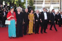 Henri Miss Ming, Yolande Moreau, Lio, Jackie Berroyer et Pippo Delbono - Pr�sentation du film Nebraska - Cannes 2013 photo 9 sur 9
