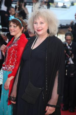 Henri Miss Ming et Yolande Moreau - Pr�sentation du film Nebraska - Cannes 2013 photo 8 sur 9