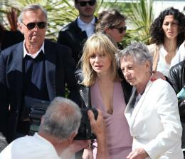 photo 22/48 - Emmanuelle Seigner et Roman Polanski - Photocall du film La Venus à la Fourrure - Cannes 2013 - La Venus à la fourrure - © Isabelle Vautier pour CommeAuCinema.com