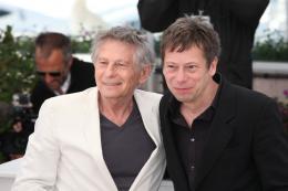 photo 33/48 - Roman Polanski et Mathieu Amalric - Photocall du film La Venus à la Fourrure - Cannes 2013 - La Venus à la fourrure - © Isabelle Vautier pour CommeAuCinema.com