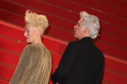 photo 29/42 - Tilda Swinton et Jim Jarmusch - Présentation du film only Lovers Left Alive - Cannes 2013 - Only Lovers Left Alive - © Isabelle Vautier pour CommeAuCinema.com