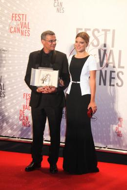 photo 43/45 - Abdellatif Kechiche et L�a Seydoux - D�ner de cl�ture du Festival de Cannes 2013 - La Vie d'Ad�le - Chapitres 1 et 2 - © Isabelle Vautier pour CommeAuCinema.com
