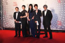 Zhao Tao Dîner de clôture du Festival de Cannes 2013 photo 7 sur 15