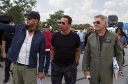 photo 3/124 - Patrick Hughes (II), Arnold Schwarzenegger, Harrison Ford - Expendables 3 - © Metropolitan Film