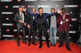 photo 27/124 - Kellan Lutz, Jason Statham, Sylvester Stallone, Antonio Banderas, Wesley Snipes - Expendables 3 - © Metropolitan Film