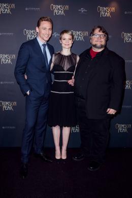 photo 38/75 - Mia Wasikowska, Tom Hiddleston, Guillermo Del Toro - Crimson Peak - © Universal Pictures International