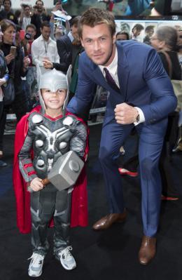 photo 68/122 - Chris Hemsworth - Avant-première à Londres - Avengers : L'Ère d'Ultron - © Getty Images - Disney