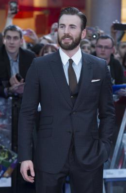 photo 69/122 - Chris Evans - Avant-première à Londres - Avengers : L'Ère d'Ultron - © Getty Images - Disney