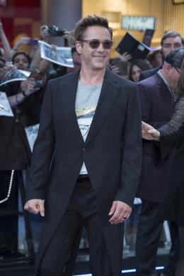 photo 72/122 - Robert Downey Jr - Avant-première à Londres - Avengers : L'Ère d'Ultron - © Getty Images - Disney