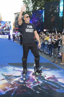 photo 117/183 - Vin Diesel - Avant-première à Londres - Les Gardiens de la Galaxie - © Walt Disney Studios Motion Pictures France
