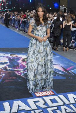 Zoe Saldana Les Gardiens de la galaxie - Avant-premi�re � Londres photo 10 sur 132