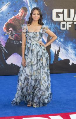 Zoe Saldana Les Gardiens de la galaxie - Avant-premi�re � Londres photo 9 sur 132