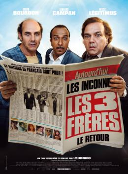 photo 27/27 - Pascal Légitimus, Bernard Campan, Didier Bourdon - Les Trois Frères le retour - © Wild Bunch Distribution