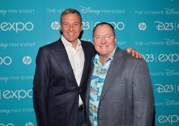 photo 39/43 - Bob Iger et John Lasseter - D23 2013, pr�sentation du film Zootopia - Zootopie - © Walt Disney Studios Motion Pictures France