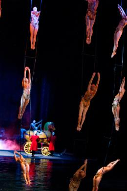 photo 3/10 - Le Cirque du Soleil - Le voyage imaginaire - © Paramount Home Entertainment Vidéo