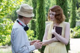 photo 11/23 - Emma Stone, Woody Allen - Magic in the Moonlight - © Mars Distribution