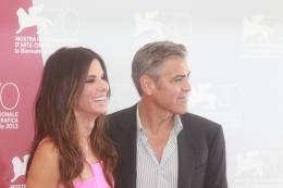 photo 64/65 - Sandra Bullock et George Clooney - Présentation du film Gravity - Venise 2013 - Gravity - © Warner Bros