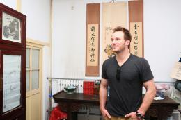 photo 47/67 - Chris Pratt - Visite en Chine - Jurassic World - © Universal Pictures International France