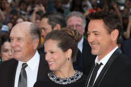 photo 79/111 - Robert Duvall, Susan Downey, Robert Downey Jr - Pr�sentation du film au Festival de Toronto 2014 - Le Juge - © Isabelle Vautier pour CommeAuCinema.com
