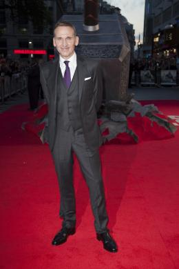 Christopher Eccleston Avant-première du film Thor le Monde des Ténèbres, Londres 2013 photo 5 sur 12