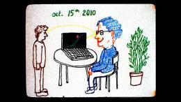photo 3/4 - Conversation Anim�e avec Noam Chomsky - © Shellac