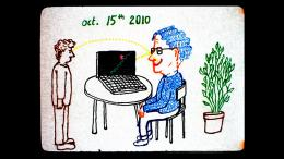 photo 3/4 - Conversation Animée avec Noam Chomsky - © Shellac