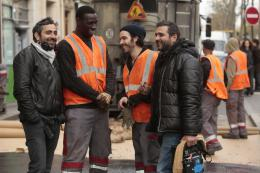 photo 3/36 - Omar Sy, Tahar Rahim, Olivier Narache, Eric Toledano - Samba - © Gaumont Distribution