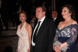 Dorothy Atkinson Montée des marches au 67ème Festival International du Film de Cannes 2014 photo 1 sur 6