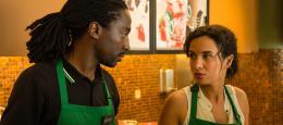 photo 2/6 - Noom Diawara, Amelle Chahbi - Amour sur Place ou à Emporter - © Gaumont Distribution
