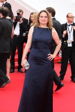 Carole Franck Mont�e des marches pour Jimmy's Hall photo 3 sur 18
