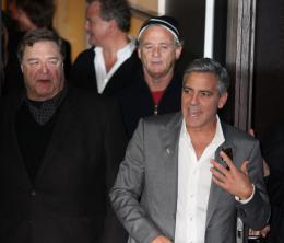 photo 21/95 - John Goodman, Bill Murray et George Clooney - Pr�sentation du film The Monuments Men, Berlin 2014 - Monuments Men - © Isabelle Vautier pour CommeAuCinema.com