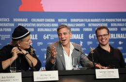 photo 47/95 - Bill Murray, George Clooney et Matt Damon - Pr�sentation du film The Monuments Men, Berlin 2014 - Monuments Men - © Isabelle Vautier pour CommeAuCinema.com