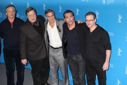 photo 25/95 - Bill Murray, John Goodman, George Clooney, Jean Dujardin et Matt Damon - Présentation du film The Monuments Men, Berlin 2014 - Monuments Men - © Isabelle Vautier pour CommeAuCinema.com
