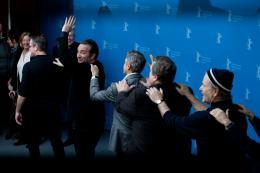 photo 36/95 - Jean Dujardin - Présentation du film The Monuments Men, Berlin 2014 - Monuments Men - © Isabelle Vautier pour CommeAuCinema.com