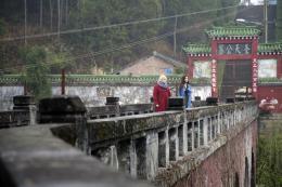 Voyage en Chine Yolande Moreau, Qu Jing Jing photo 1 sur 7