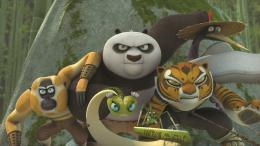 photo 3/8 - Kung Fu Panda - L'incroyable légende : Le justicier de minuit (Vol.3) - © Fox Pathé Europa (FPE)
