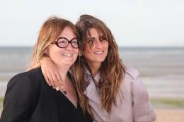 Dorothée Sebbagh 28ème Festival du Film Romantique de Cabourg 2014 - Photocall pour L'Ex de ma vie photo 1 sur 2