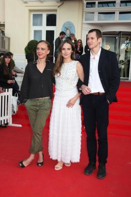 Julie Lopes Curval 28ème Festival du Film Romantique de Cabourg 2014 photo 1 sur 2