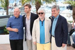 photo 121/129 - Agustin Almodovar, Damian Szifron, Pedro Almodovar, Hugo Sigman- Photocall de Relatos Salvajes - Cannes 2014 - Les Nouveaux Sauvages - © Isabelle Vautier pour CommeAuCinema.com