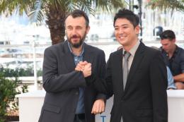 Fred Cavayé Pyo Jeok - Cannes 2014 photo 3 sur 9