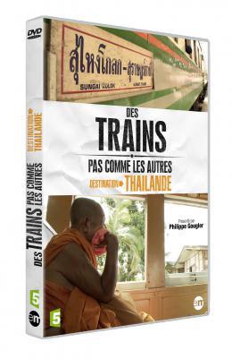 photo 1/6 - Des Trains pas comme les Autres - Destination Thaïlande - © Editions Montparnasse