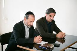 photo 5/11 - Rami Danon, Eli Gorstein - Gett - Le Procès de Vivianne Amsalem - © Les Films du Losange