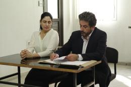 photo 2/11 - Ronit Elkabetz, Menashe Noy - Gett - Le Procès de Vivianne Amsalem - © Les Films du Losange