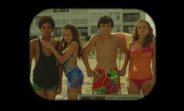 photo 8/12 - Myles Massey, Maddie Howard, Marcello Conte, Emmi Shockley - Ping-Pong Summer - © Potemkine Films