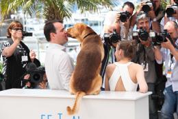 photo 16/18 - Kornel Mundruczo, Zsofia Psotta - Photocall de White God - Cannes 2014 - White God - © Isabelle Vautier pour CommeAuCinema.com