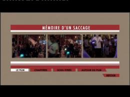 photo 7/7 - Menu Dvd - M�moire d'un Saccage : Argentine, le hold-up du si�cle